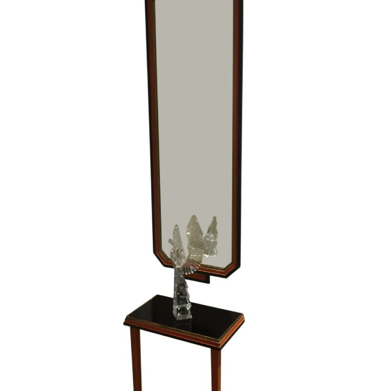 Art Deco Pier Mirror and Matching Console Table