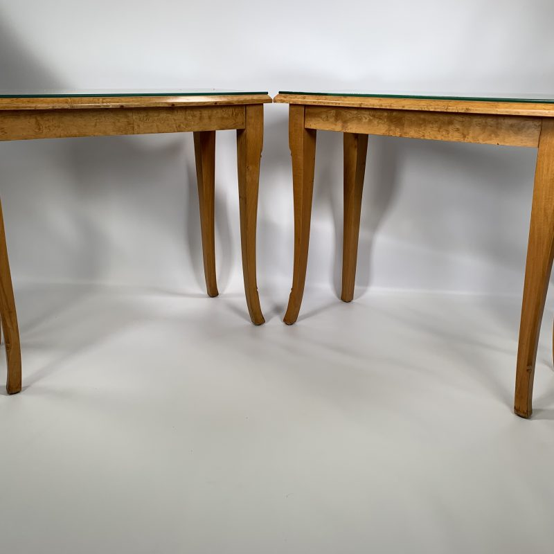 Art Deco Scandinavian Side Tables