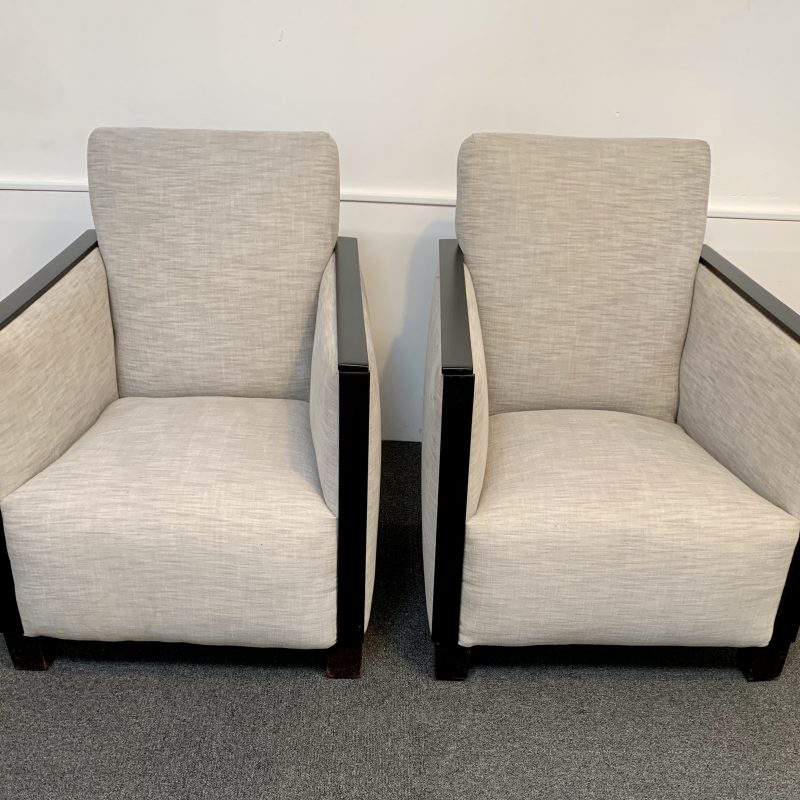 Betty Joel 'Savoy' Art Deco Armchairs