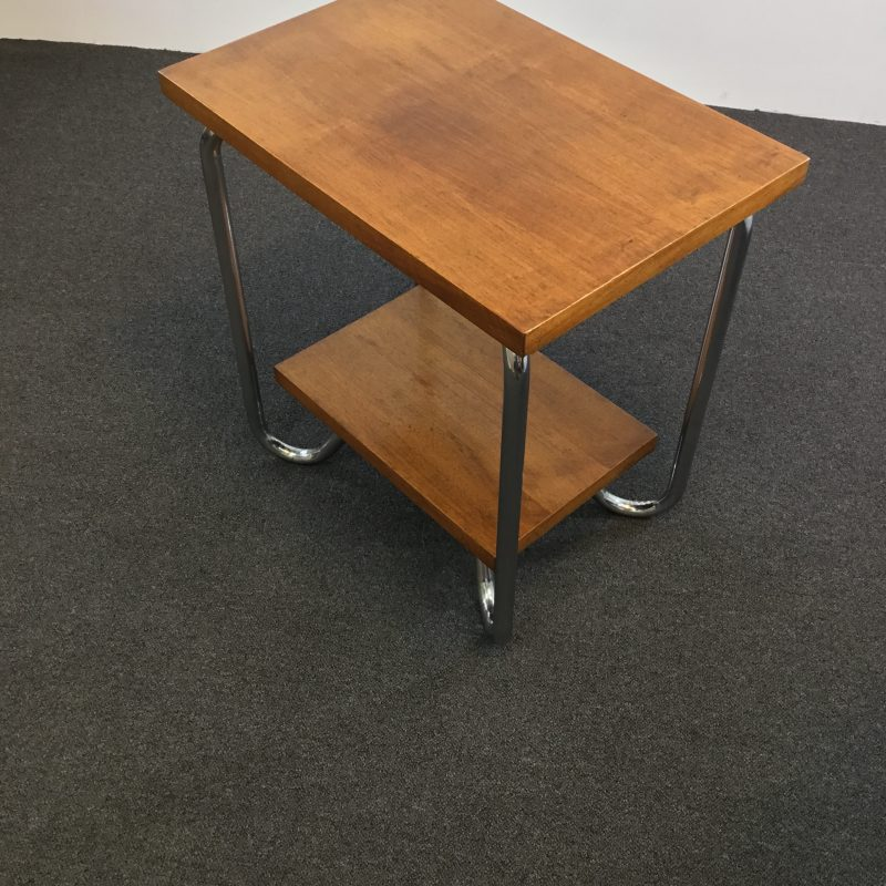 Belgium Art Deco Walnut Coffee Table