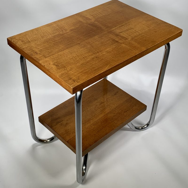 Belgium Art Deco Walnut Coffee Table