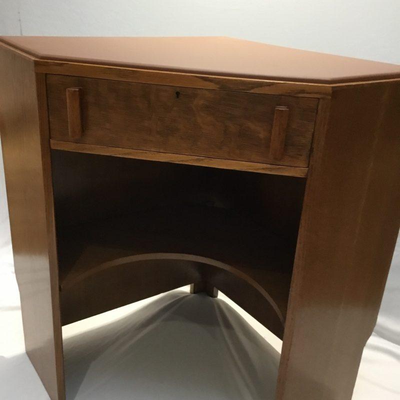 Art Deco Heals Corner Desk