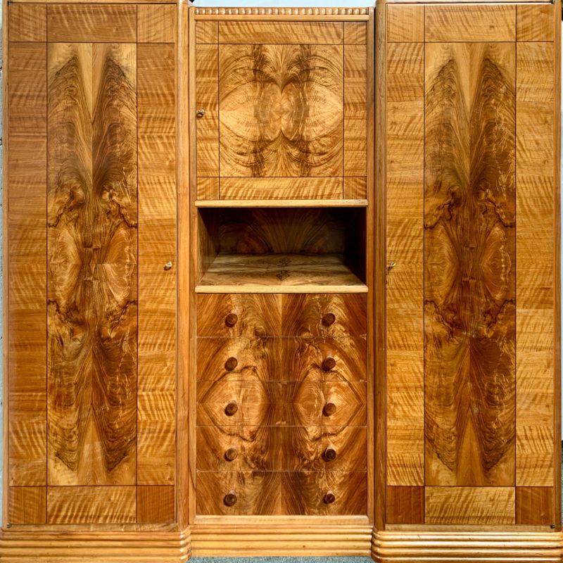 French Art Deco Wardrobe/Armoire