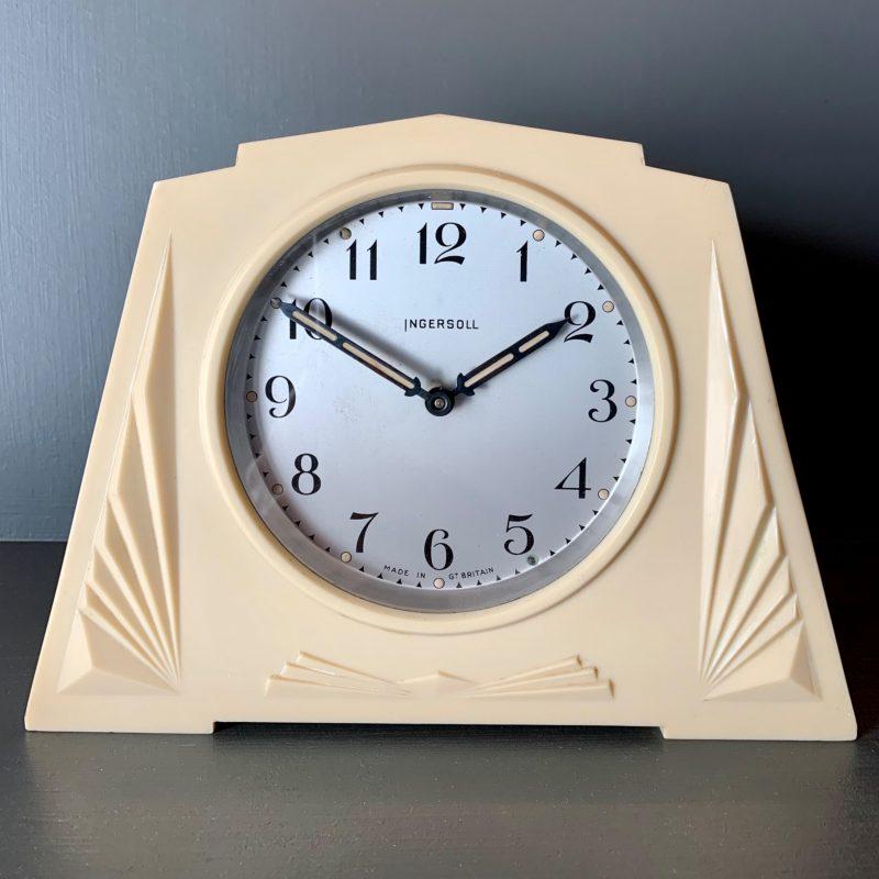 Art Deco Clock by Ingersoll