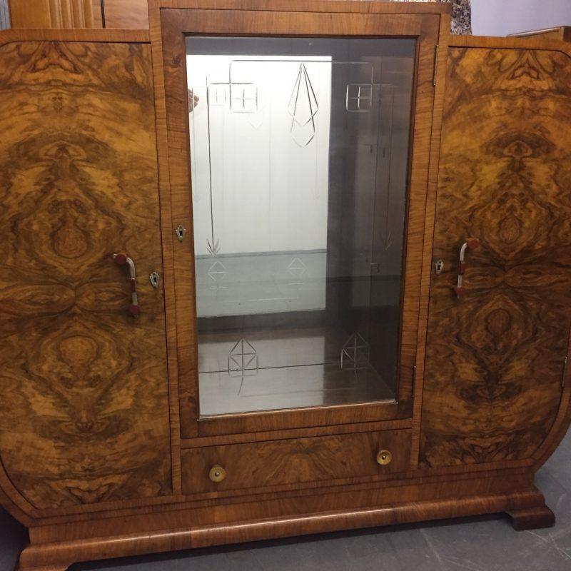 Epstein Art Deco Walnut Cabinet