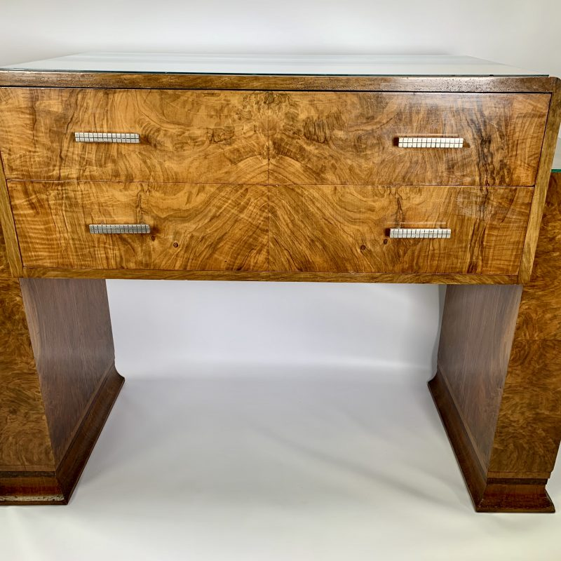 Art Deco Serving Table by Wolfe and Hollander