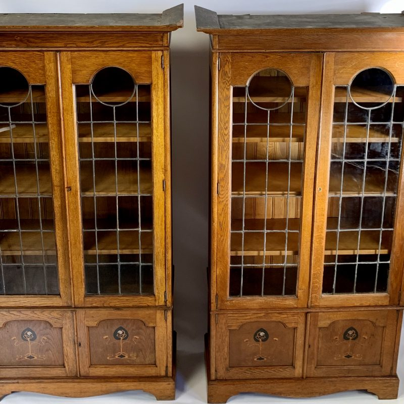 A Pair of Arts and Crafts Bookcases