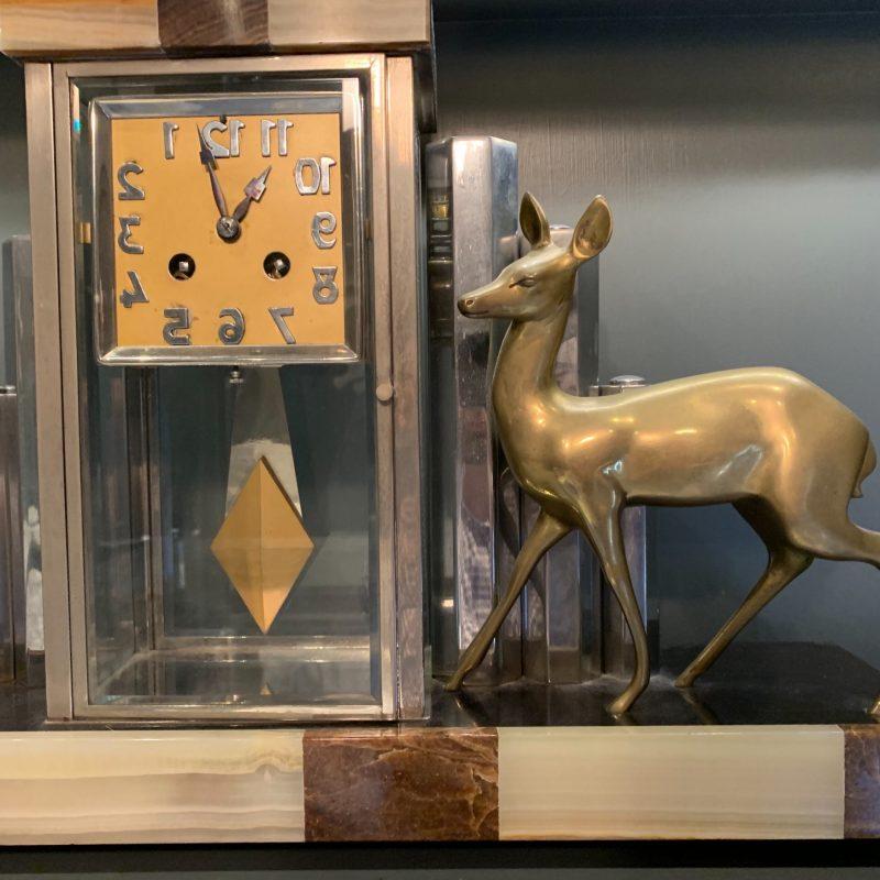 Art Deco French Mantel Clock