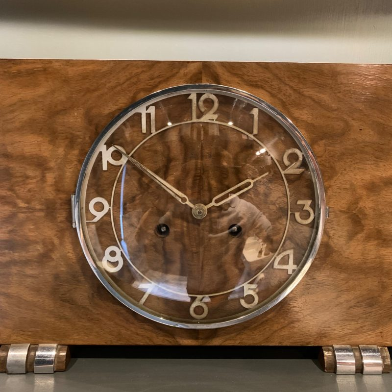 Art Deco Clock by Kienzle