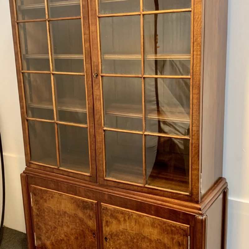 Art Deco Bookcase/Display Cabinet by Bath Cabinet Makers