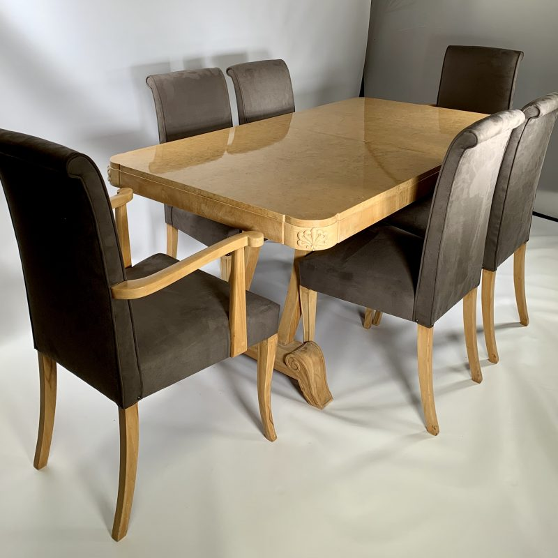 Hille Dining Room Table and 6 Chairs