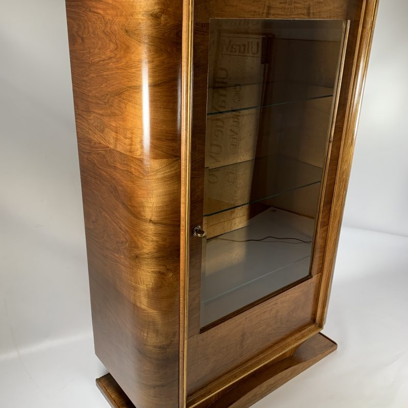 Art Deco French Display Cabinet