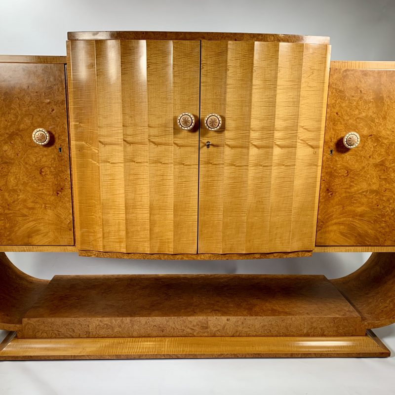 Art Deco Epstein Maple Sideboard