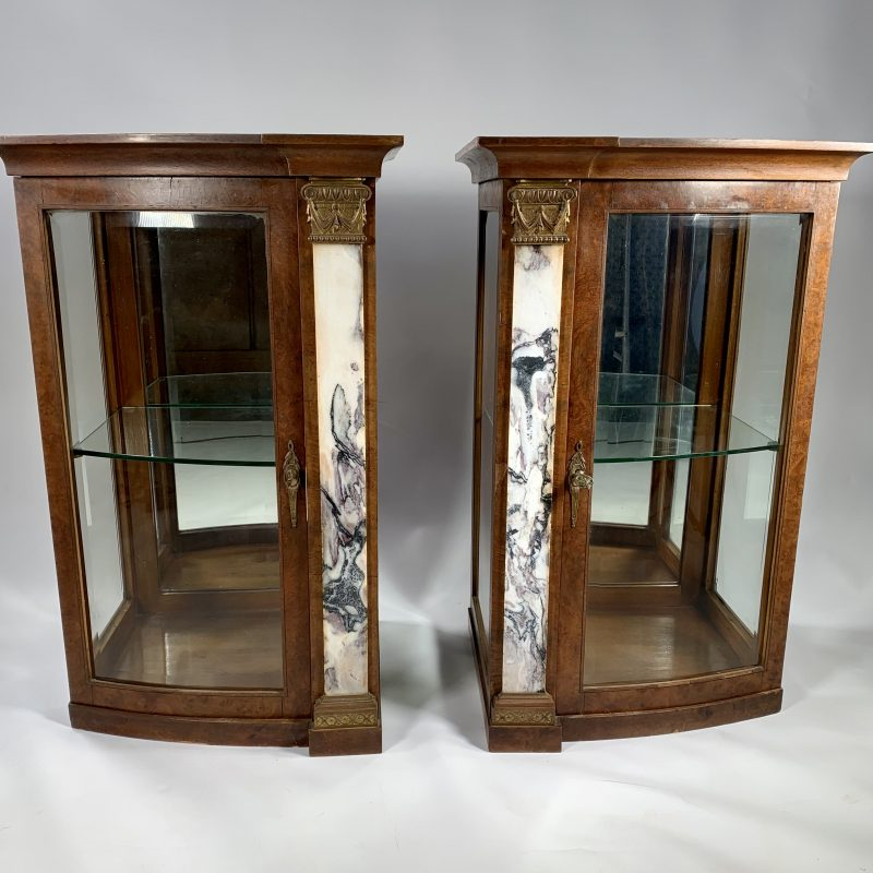A Pair of French Display Cabinets