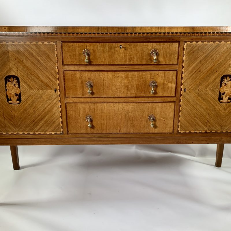 1930s 'Gaylayde' Walnut Sideboard by B.Cohen & Sons