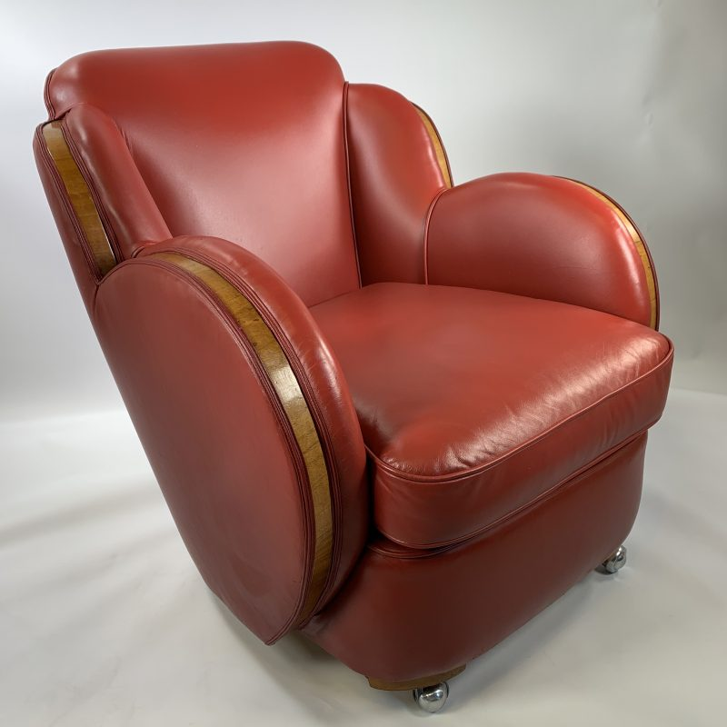 Art Deco Epstein Cloud Armchair