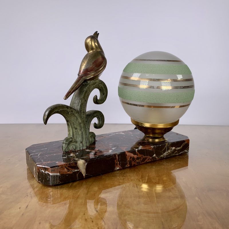 Art Deco French Mood Lamp
