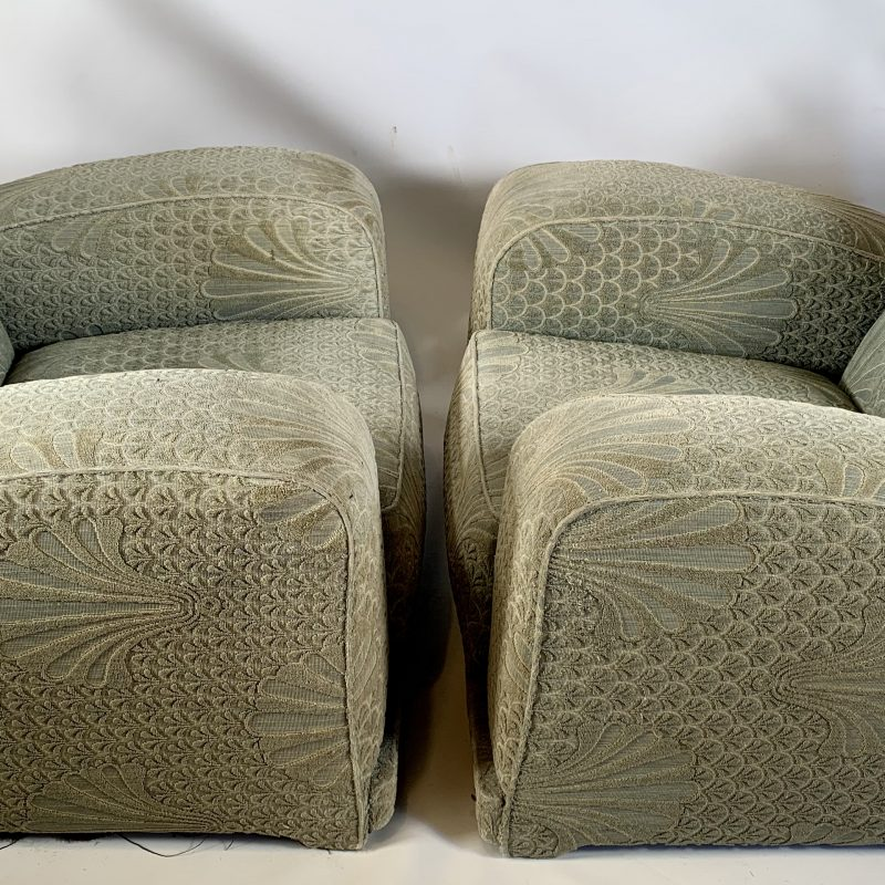 A Pair of Art Deco Armchairs for Reupholstery