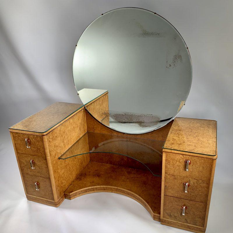 A fine Art Deco Dressing Table