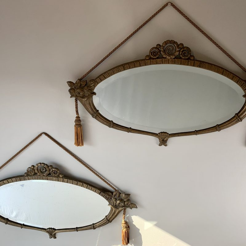 A Pair of French Art Deco Mirrors