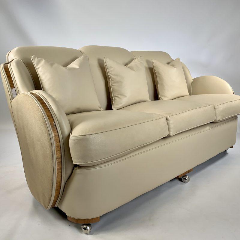 H&L Epstein Art Deco Cloud Sofa
