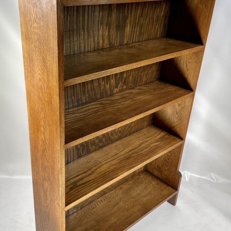 Art Deco 1930s Oak Bookcase
