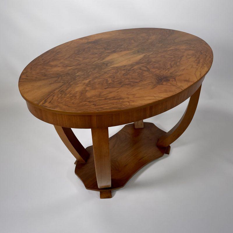 Art Deco Oval Coffee/Side Table