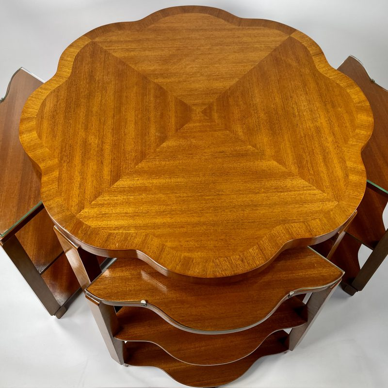 Epstein Art Deco Nest of Five Tables