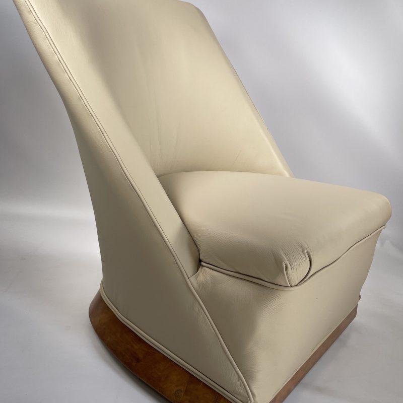 Art Deco Slipper Chair