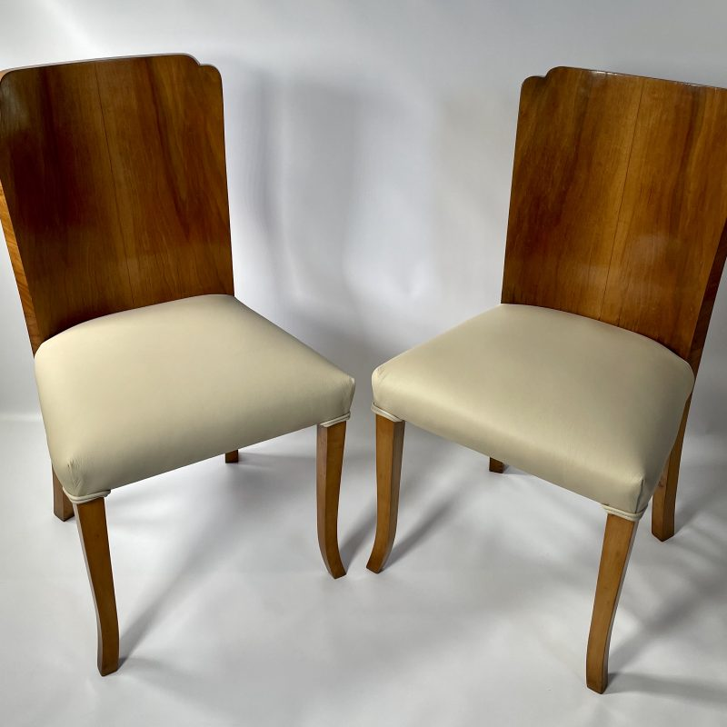 A Pair of Art Deco Epstein Chairs