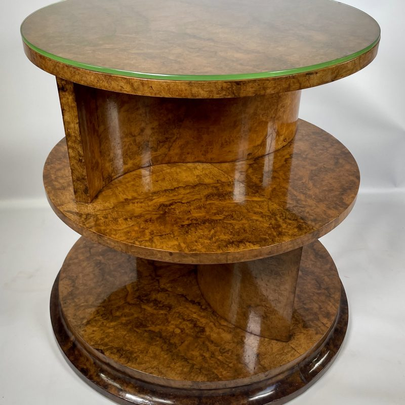 Art Deco Bookcase Table attributed to Hille