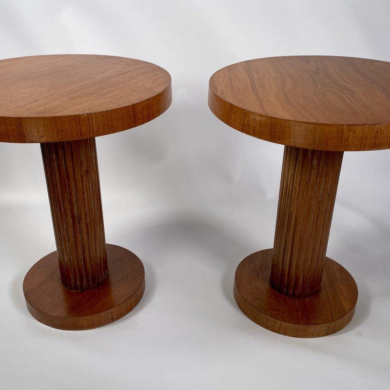 Pair of Art Deco Wine/Side Tables