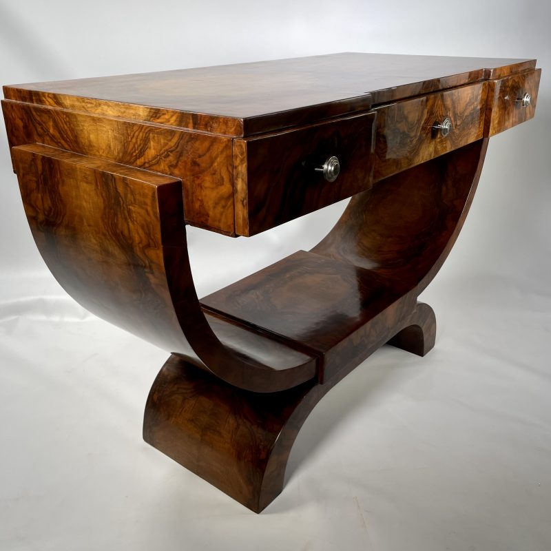 French Art Deco Console Table