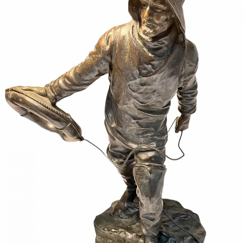 Bronze Sculpture by Henry Kossowski