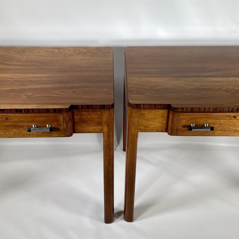 A Pair of Art Deco Desks