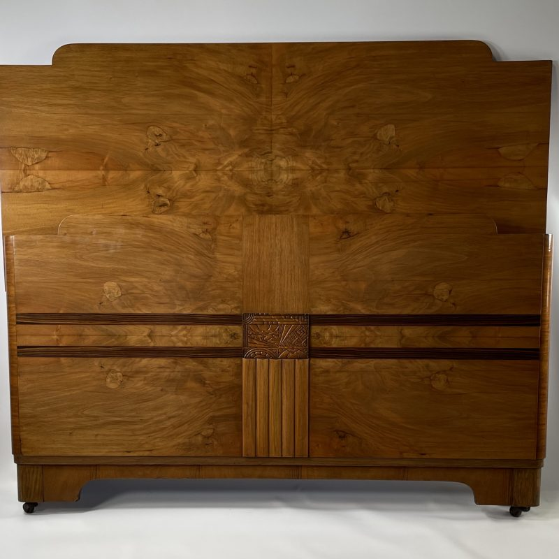 Art Deco French Double Bed